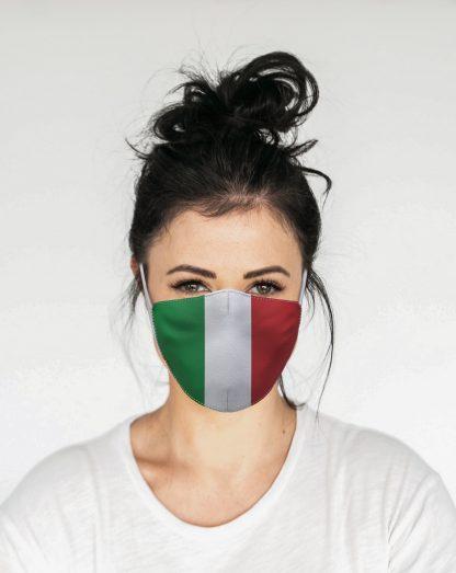 Mascherina Maskis Bandiera Italia Donna