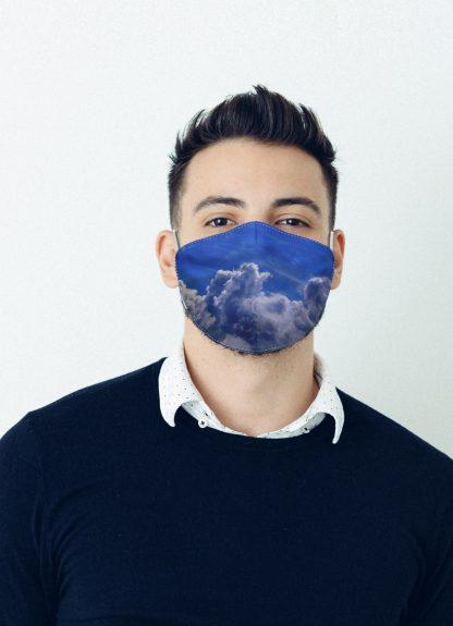 Mascherina Maskis Cielo Uomo
