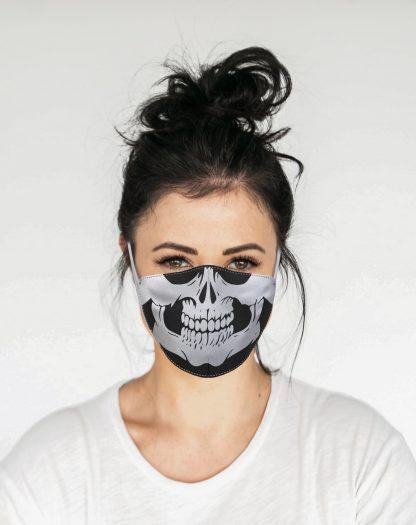 Mascherina Maskis Skull Teschio Donna