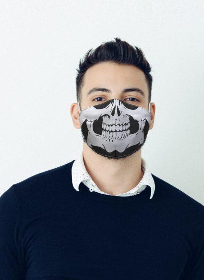 Mascherina Maskis Skull Teschio Uomo