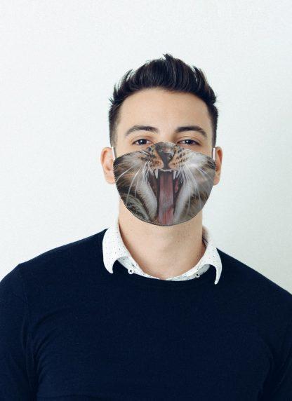 Mascherina Maskis Animali Gatto Uomo