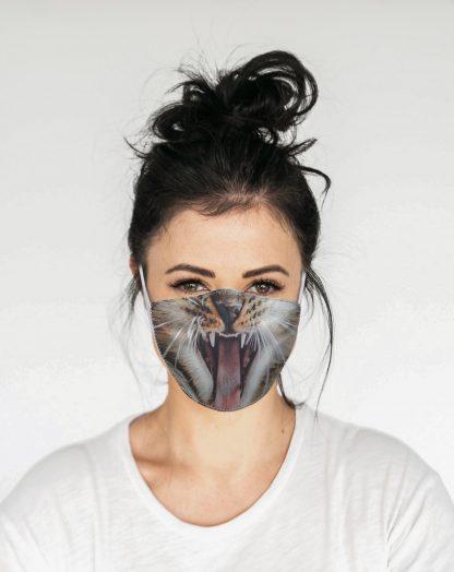 Mascherina Maskis Animali Gatto Donna