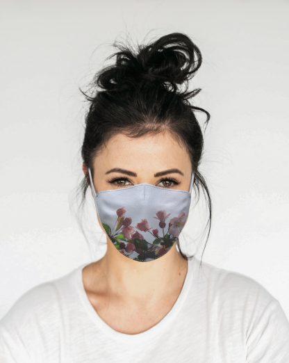 Mascherina Maskis Fiori Donna