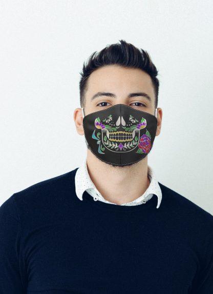 Mascherina Maskis Calavera Uomo