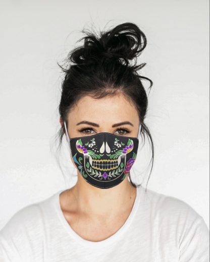 Mascherina Maskis Calavera Donna