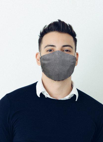 Mascherina Maskis Tweed Uomo