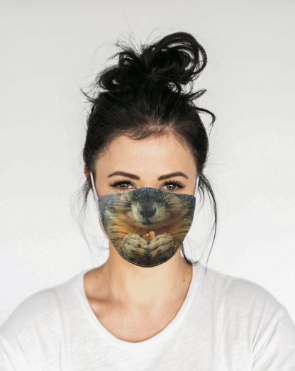 Mascherina Maskis Animali Scoiattolo Donna