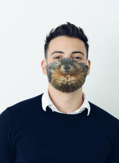Mascherina Maskis Animali Scoiattolo Uomo