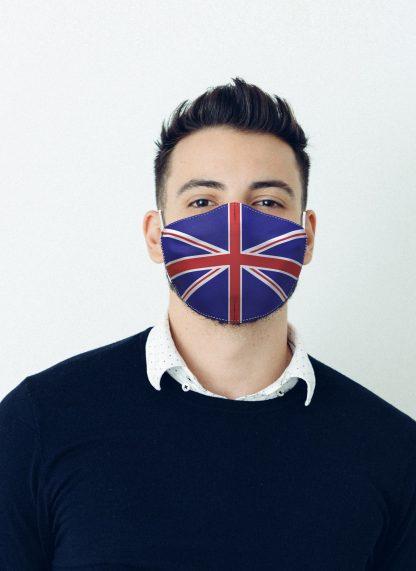 Mascherina Maskis Bandiera Inghilterra Uomo
