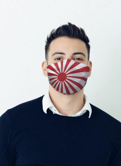 Mascherina Maskis Bandiera Giappone Uomo
