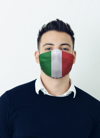 Mascherina Maskis Bandiera Italia Uomo