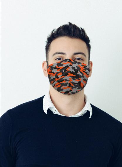 Mascherina Maskis Camouflage Uomo