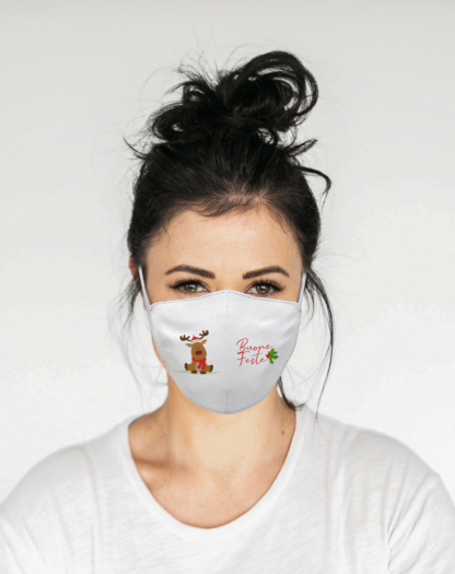 Mascherina Maskis Natale donna